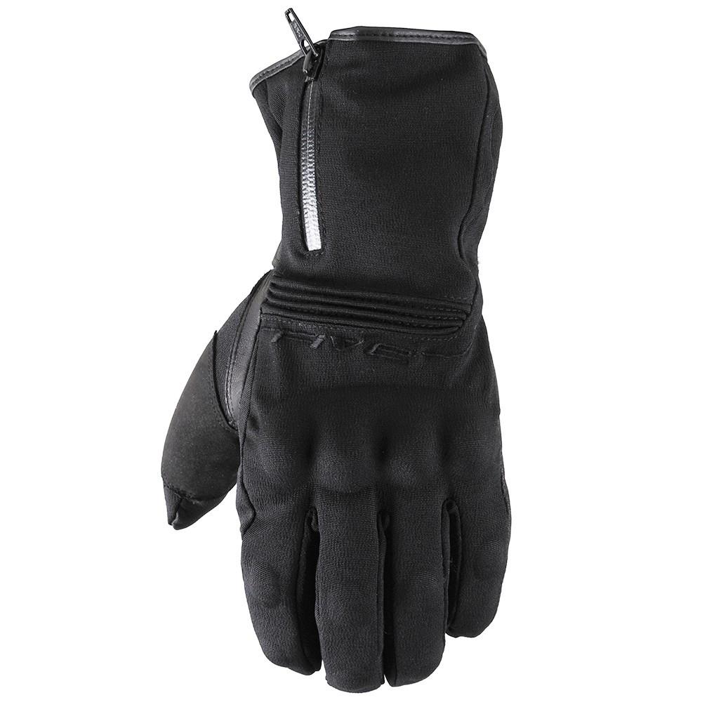 protecci/ón de Piel de Cabra Guantes de Piel para Moto para Hombre y Mujer Guantes para Motociclistas para Todo el a/ño