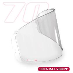 PINLOCK 70 MAX VISION LS2 FF320 STREAM, FF353 RAPID, FF800 STORM