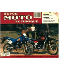 MANUAL REVUE MOTO TECHNIQUE SUZUKI DR125S, HONDA XLV750R